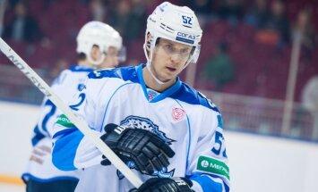Bārtulis un Sotnieks neglābj komandas no minimāliem zaudējumiem KHL spēlēs