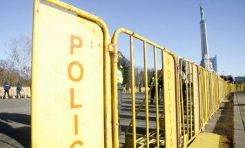 16 марта: полиция ограничит движение в центре Риги