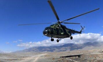 Čečenijā nogāžas robežsardzes helikopters 'Mi-8'