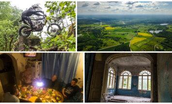 Iepazīstam viesmīlīgo Latgali: kritiens, muiža, dižakmens un neticama laipnība