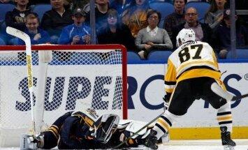 Video: Krosbija meistarstiķis pret 'Sabres' atzīts par NHL čempionāta skaistāko 'golu'