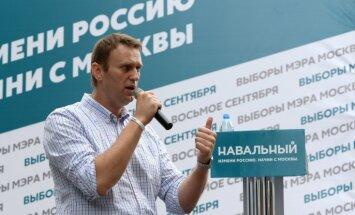 Krievijas Ģenerālprokuratūra: Navaļnijs saņēmis nelikumīgus ziedojumus no ārzemēm