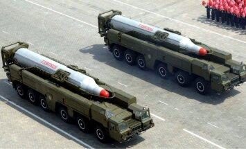 Ziemeļkorejai varētu būt divreiz vairāk raķešu palaišanas iekārtu nekā uzskatīs
