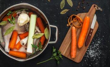 Овощной, куриный, говяжий бульон домашнего приготовления. Какой кусок мяса положить в кастрюлю?