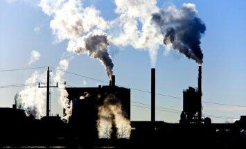 Vācu pētnieki: siltumnīcas gāzu izmeši sasnieguši rekordlielu līmeni