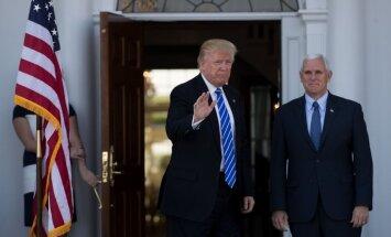 Baltijas prezidentu tikšanās ar ASV viceprezidentu Pensu varētu norisināties sestdien