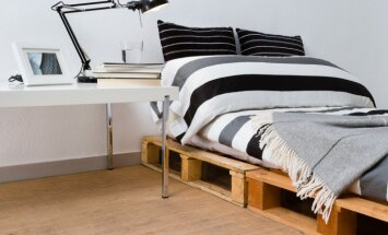 Foto idejas: Kā interesanti iekārtot dažu kvadrātmetru guļamistabu