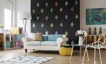 Neparasti risinājumi, kā izmantot vietu zem dīvāna un gultas