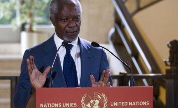 Annans pamet ANO Sīrijas jautājuma sūtņa amatu