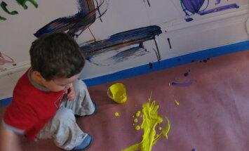 Septiņi ieteikumi, kā ar bērnu runāt par viņa piecminūšu mākslas darbiem