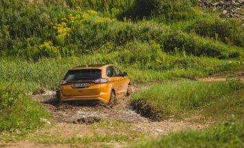 Foto: Trasē '333' prezentēts jaunais apvidnieks 'Ford Edge'