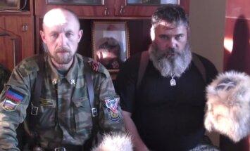 Video: 'Babajs' ar biedriem aicina kazakus pievienoties 'pulkam'