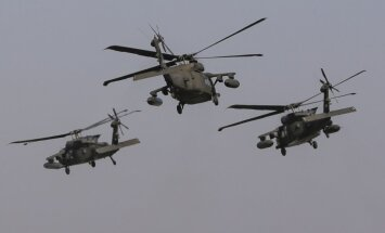 ASV helikopteri veiks zemos lidojumus Latvijas gaisa telpā