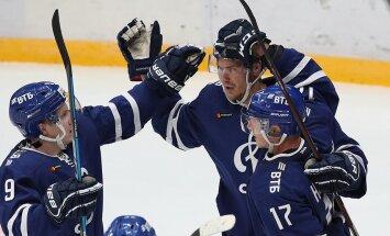 Indrašis gūst vārtus un palīdz Maskavas 'Dinamo' pārtraukt trīs zaudējumu sēriju