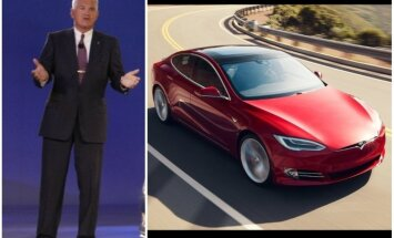 GM bijušais vadītājs auto kolekcionāriem iesaka pirkt 'Tesla Model S'