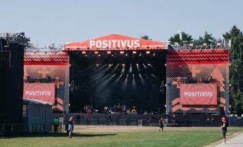 Atcelts Mura Masa koncerts 'Positivus' festivālā