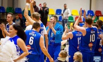'Ogres' basketbolisti uzvar arī 'Latvijas Universitāti'; 'Valka/Valga' pārspēj 'Jēkabpili'