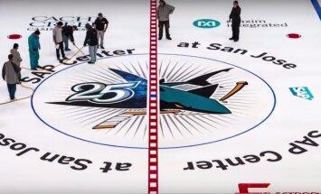 Video: Kā 'Sharks' komanda sagatavo ledus laukumu NHL sezonai