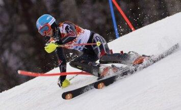 Kalnu slēpotājai Leldei Gasūnai uzvara FIS sacensībās milzu slalomā