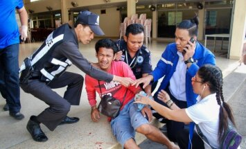 Sprādzieni Taizemē: 9 eksplozijas 24 stundās un četri nogalinātie