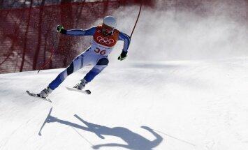 XXIII Ziemas olimpisko spēļu rezultāti kalnu slēpošanas nobrauciena disciplīnā vīriešiem (15.02.2018.)