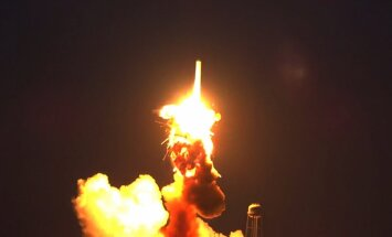 ASV palaišanas brīdī eksplodē kravas raķete