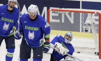 Slovēnija piekāpjas ASV un zaudē izredzes saglabāt vietu PČ elitē