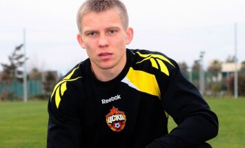 Cauņas pārstāvētā CSKA komanda izcīna pārliecinošu uzvaru Krievijas čempionāta mačā