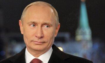 Putins mudinājis Ukrainas armiju un separātistus pārtraukt uguni, ziņo 'Itar-Tass'