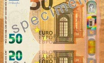 ФОТО: Весной в обращение поступит новая купюра в 50 евро