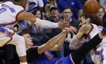 Porziņģis gūst 11 punktus 'Knicks' zaudējumā