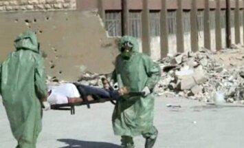 ANO: Sīrijas armija 2015.gadā lietojusi ķīmiskos ieročus