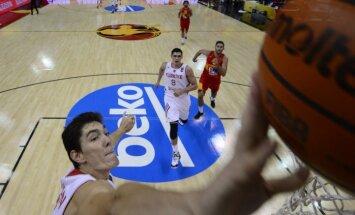 Latvijas 'Eurobasket 2017' pretiniece Turcija pārbaudes spēlēs izcīna divas spraigas uzvaras