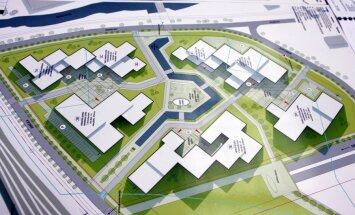 Divas konkursā piedalījušās firmas pārsūdz konkursa par LU Akadēmiskā centra Torņakalnā būvniecību rezultātu