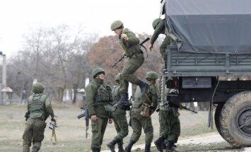 Ukrainas parlaments pieprasa Krievijas karaspēka izvešanu no Krimas