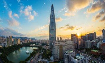 Дотронуться до небес. В Сеуле открылась одна из самых высоких в мире смотровых площадок