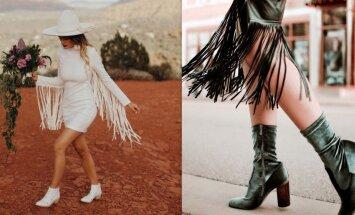 Rotaļīgā stila tendence – bārkstis. Gaumīgas tērpu idejas kombinācijā ar šo aktualitāti
