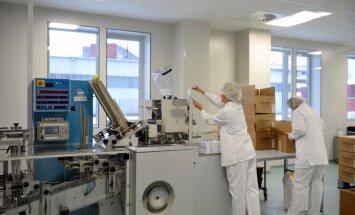 Latvijas zāļu ražotāji pērn audzējuši apgrozījumu un eksportu