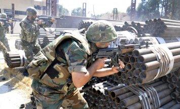 Nemiernieki: Sīrijā iebrūk 'Hezbollah' kaujinieki