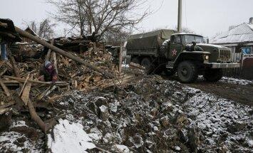 Olands un Merkele sola Minskas sarunās mēģināt visu Ukrainas konflikta izbeigšanai