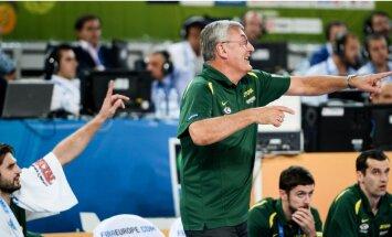 Lietuvas basketbola izlasi vairs nevadīs Kazlausks