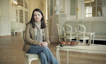 Ekskluzīva video intervija ar vijolnieci Baibu Skridi