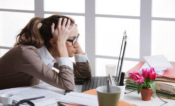 stress darbs sieviete