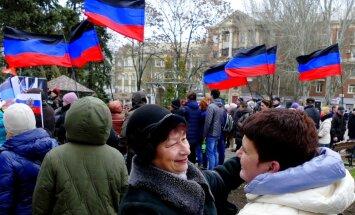Eirovīzijā aizliedz strīdus teritoriju, tostarp okupēto Ukrainas daļu, karogus
