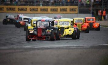 Konstantīns Calko izcīna sensacionālu uzvaru NEZ 'Legend Car' čempionāta Rīgas posmā