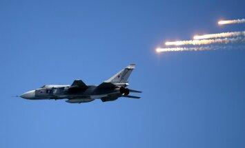 Latvijas tuvumā šogad 22 reizes 'viesojusies' Krievijas bruņoto spēku tehnika