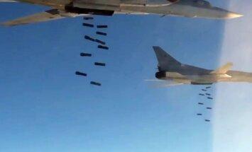 Krievija Sīrijā bombardējusi ASV un britu priekšposteni, vēsta laikraksts