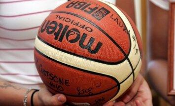 'Valmieras' basketbolisti pārbaudes spēlē pieveic Edmunda Gabrāna pārstāvēto komandu 'Froya'
