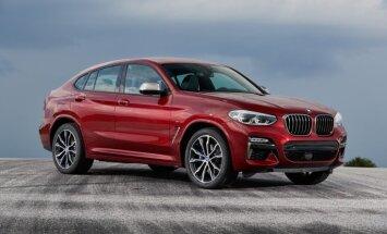 Tirdzniecībā Latvijā nonācis otrās paaudzes 'BMW X4'