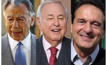 'Forbes' saraksts – miljardieri, kuri šogad devušies viņsaulē
